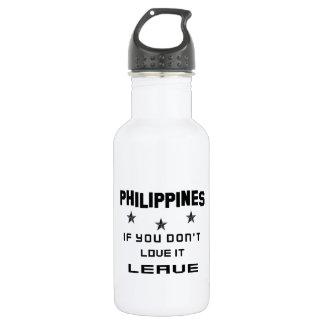 それを愛さなければフィリピン、許可 ウォーターボトル