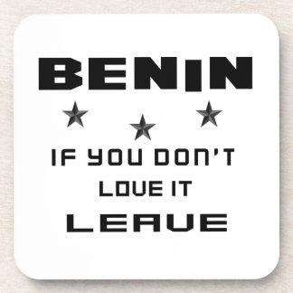 それを愛さなければベニン、許可 コースター