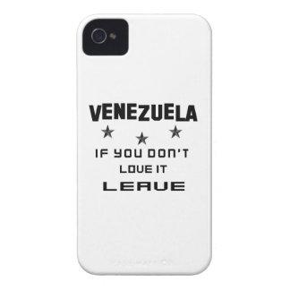 それを愛さなければベネズエラ、許可 Case-Mate iPhone 4 ケース