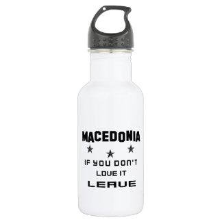 それを愛さなければマケドニア、許可 ウォーターボトル