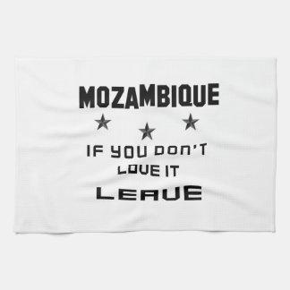 それを愛さなければモザンビーク、許可 キッチンタオル