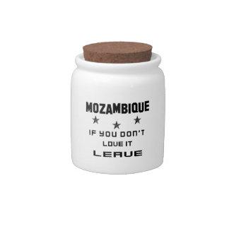 それを愛さなければモザンビーク、許可 キャンディージャー