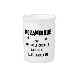 それを愛さなければモザンビーク、許可 ピッチャー