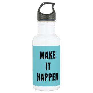 それを感動的な飲み物のボトル起こらせます ウォーターボトル
