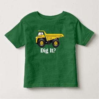 それを掘って下さいか。 -幼児の素晴らしいジャージーのTシャツの トドラーTシャツ