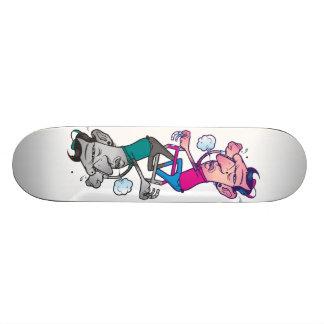 それを発汗させないで下さい 21.6CM スケートボードデッキ