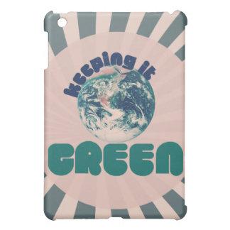 それを緑保ちます iPad MINI カバー