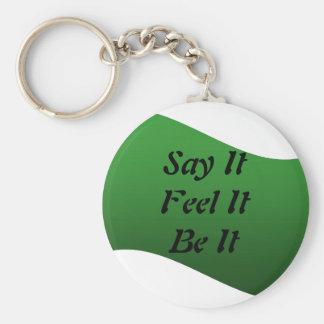 それを言って下さい、ならば、Keychain感じて下さい キーホルダー