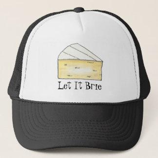 それを許可されるブリー (Be)チーズくさびのグルメの帽子 キャップ