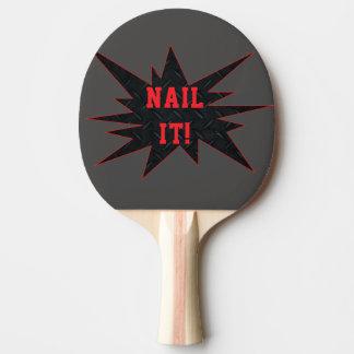 それを釘付けして下さい! おもしろいで破壊的な卓球ラケット 卓球ラケット