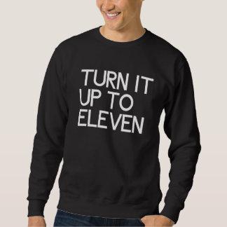 それを11まで回して下さい スウェットシャツ