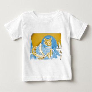 """それを""""ライン意味するまでRingoのレトロの""""猫の鳴き声 ベビーTシャツ"""