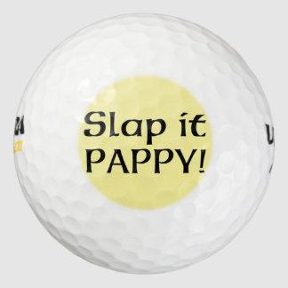 それをPappy強く打って下さい ゴルフボール
