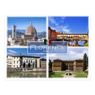それイタリア-イタリア-フィレンツェ- ポストカード