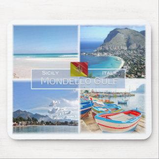 それイタリア-シシリー- Mondello湾- マウスパッド