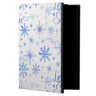 それパターン割り当てられる冬雪が降るため POWIS iPad AIR 2 ケース