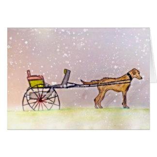 それ割り当てられる雪が降るため! カード
