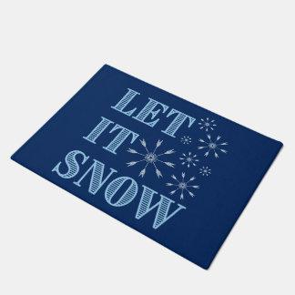 それ割り当てられる雪が降るため ドアマット