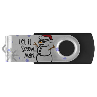 それ割り当てられる雪が降るため、人を配置するため USBフラッシュドライブ