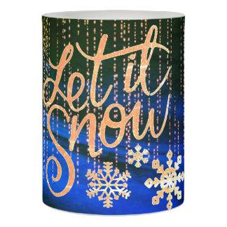 それ割り当てられる雪が降るため LEDキャンドル