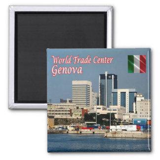 それ-イタリア-ジェノア-世界貿易センター マグネット