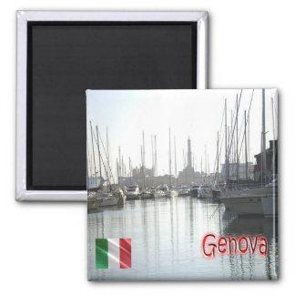 それ-イタリア-ジェノア-港 マグネット