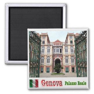 それ-イタリア-ジェノア-王宮 マグネット