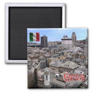 それ-イタリア-ジェノア-都市景観 マグネット