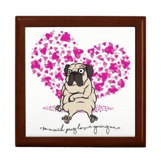 そんなに気難しいパグのバレンタインで行くパグ愛 ギフトボックス