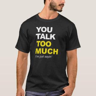 たいそう話します Tシャツ