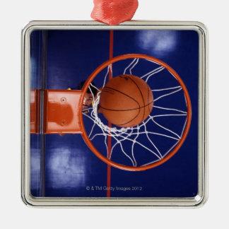 たがのバスケットボール メタルオーナメント