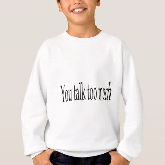 たくさんの服装を話します スウェットシャツ