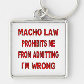 たくましい法律は私から是認している私を間違っています禁止します キーホルダー