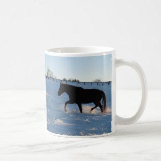 たそがれの雪 コーヒーマグカップ