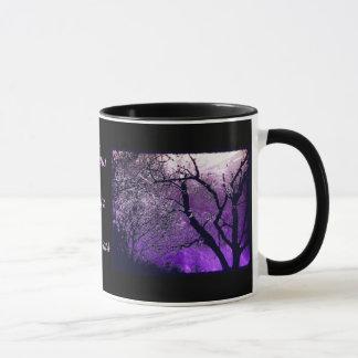 たそがれの霞は、あなたの夢の英国の茶マグを後を追います マグカップ