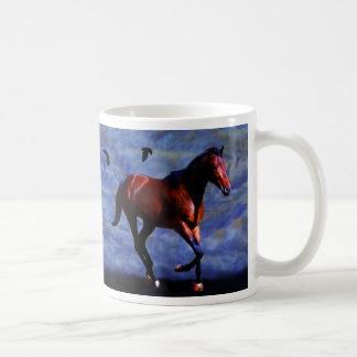 たそがれの馬 コーヒーマグカップ