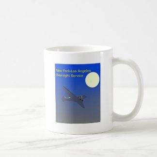 たそがれ飛行ヴィンテージポスター コーヒーマグカップ
