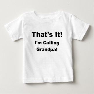 ただそれだけim呼出しgrandpa.png ベビーTシャツ