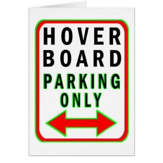 ただ駐車するHoverboard カード