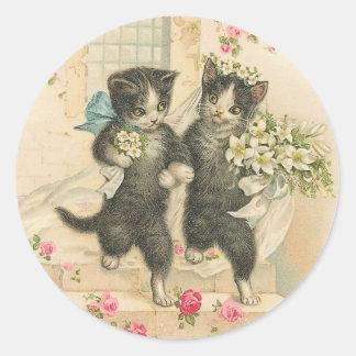 たった今結婚しましたの子猫猫 ラウンドシール