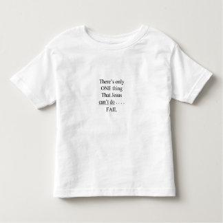 たった1人の事/幼児があります トドラーTシャツ