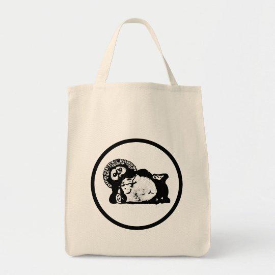 たぬき かばん トートバッグ