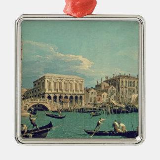 ため息の橋、ベニスc.1740 メタルオーナメント