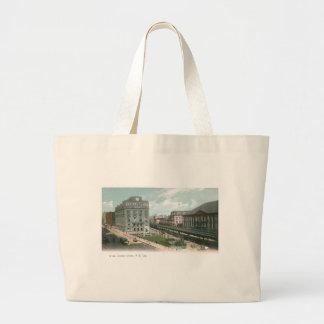 たる製造人連合。 NY都市 ラージトートバッグ