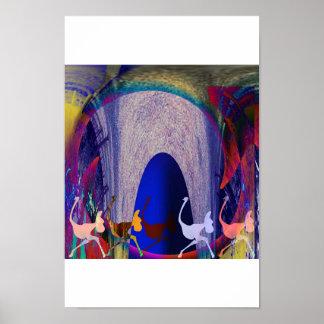 だちょうの洞窟 ポスター