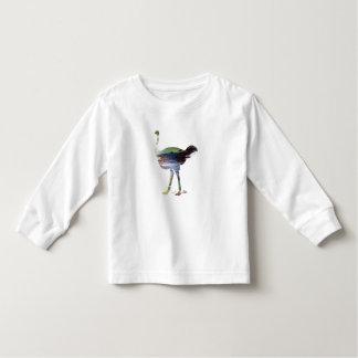 だちょうの芸術 トドラーTシャツ