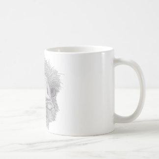 だちょうの顔 コーヒーマグカップ