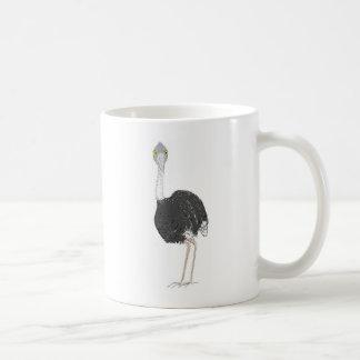だちょう コーヒーマグカップ
