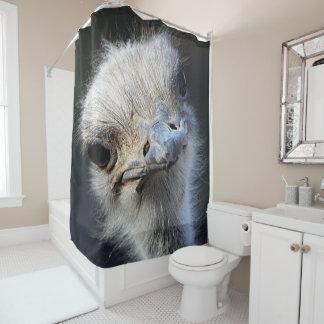 だちょう シャワーカーテン