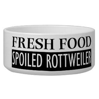 だめにされたロットワイラー